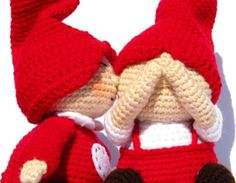 PDF Amigurumi Pattern  Gnome Love by picuu on Etsy, $10.00