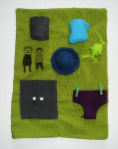tapis de la souris verte pour faire raconter l'histoire aux enfants