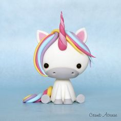 DIY Cute Unicorn Polymer Clay Step-by-Step Tutorial