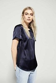 Amanda Satin T-Shirt