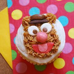 Fozzie Bear Cupcakes