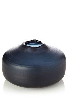 FCUK Graphics Glass Vase