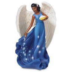 Image detail for -African American Angel Figurines by Andrea