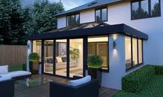 Get inspiration and Conservatory examples with our Gallery page, whether it's for a conservatory, orangery, roof lanterns or Kitchen extension. House Extension Plans, House Extension Design, Roof Extension, Extension Designs, House Design, Extension Ideas, Bungalow Extensions, Garden Room Extensions, House Extensions