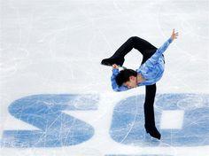 Figure Skating   Team Men's Short Program   Yuzuru HANYU   Japan   http://www.sochi2014.com/en/athlete-yuzuru-hanyu
