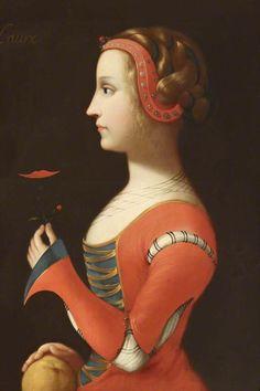 Laure ('Laura') de Noves (d.1348), Wife of Hugues de Sade, Petrarch's sweetheart.