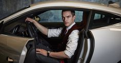 Behind the Wheel with Nicholas Hoult - Men's Journal