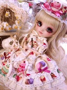 *Room of Alice*少女ドレス*Blythe*プーリップ*outfit563_画像2