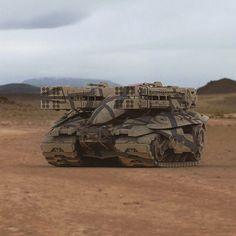 Проект танка будущего