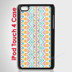 Unique Aztec Pattern iPod Case for iPod Touch 4