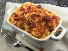 Because mac and cheese is NEVER a bad idea!  Save the recipe for Pimento Mac and Cheese 👍 Good Macaroni And Cheese Recipe, Best Mac And Cheese, Cheese Recipes, Comfort Foods, Bacon, Ethnic Recipes, Soul Food Meals