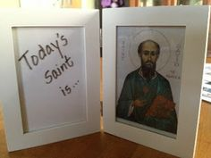 The Diary of a Sower: Saints Day frame