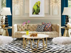 Top Interior Designers - Design Projects by Jonathan Adler Jonathan Adler Modern Interior Design Ideas.