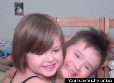 """""""Whatever, I'm just happy he's my brother."""" Big sister Ace is out to deliver an important message: Her brother Archie has Down Syndrome, but he is just like other kids.    Cried like a baby with this video ;)"""