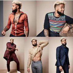 Hot Black Guys, Black Boys, Black Men, Hot Guys, Odel Beckham, Odell Beckham Jr, Black Is Beautiful, Gorgeous Men, Beautiful People