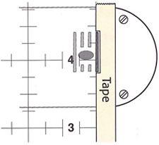 How to sew a quarter-inch seam 2