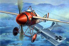 Morane Saulnier N - S. Tarasovic - box art Eduard Lt. T.P.H. Bayetto No. 60 Squadron