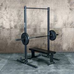 Want to start building your garage gym, but don't want to break the bank? We have built the ultimate garage gym starter package just for you. Pilates Studio, Pilates Reformer, Gym Rack, Dip Station, Weight Training Programs, Fitness Programs, Ultimate Garage, Pull Up Bar, Power Rack