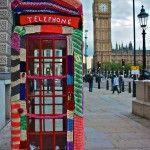 guerilla knitting in London