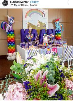 My Little Pony Birthday Party Dessert Table and Decor Birthday Party Desserts, Birthday Ideas, My Little Pony Birthday Party, Dessert Table, Ponies, Party Ideas, Decor, Parties Kids, Decoration