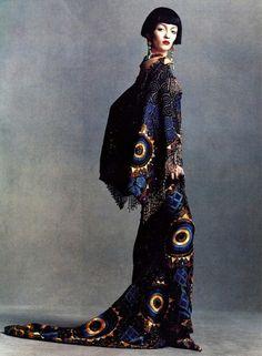 Kimono-inspired fashion