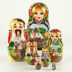 Ukrainian Life Nesting Doll