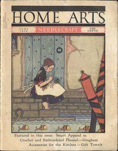 1936 Home Arts Needlecraft Magazine