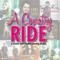 A #CountryMusic inspired playlist. Perfect for a laid back #spinning ride or a run.