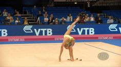 Yana KUDRYAVTSEVA (RUS) 2015 Rhythmic Worlds Stuttgart - Qualifications ...