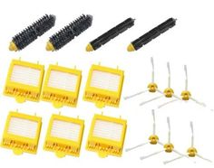 19.90$  Buy now - http://alixfv.shopchina.info/1/go.php?t=32316099710 - 6 Hepa Filters +2 set (Bristle +Flexible Beater) Brush +6 3-Armed Side Brush Pack for iRobot Roomba 700 Series 760 770 780 790  #shopstyle