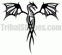 dragon tattoos tribal   tweet autor tribalshapes com url http www tribalshapes com