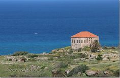 Old red-roof house in the sea - Jbeil Byblos