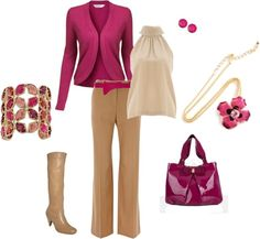 """""""Rose Necklace 3"""" by lislyn on Polyvore"""