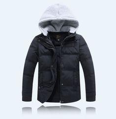 Hooded Boys/Girls Winter Coat Long Sleeve Winter Jacket WindProof Children/ Kids Down Coat