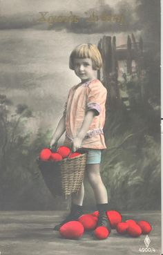 11 Vintage Cards, Vintage Photos, Greek Easter, Colours, Deco, Fun, Painting, Corfu Island, Annie