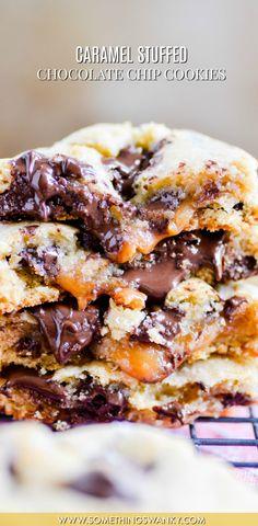 Caramel Stuffed Choc
