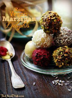 Raw Marzipan Delights {Gluten-Free, Vegan}