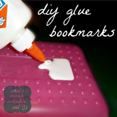 Remember when??? Glue Bookmarks