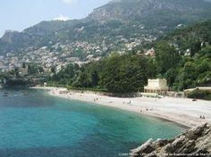 La plage du Buse (Roquebrune-Cap-Martin)
