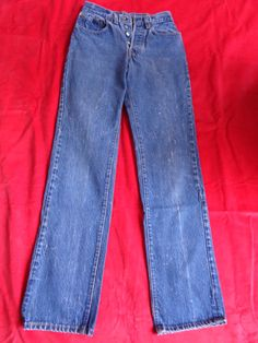 Vintage 501 jeans faded worn 28x36 by vintagewayoflife on Etsy