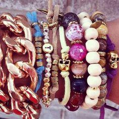 Feito com amor - браслеты из натуральных камней   VK