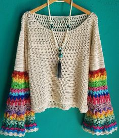 ideas for crochet sweater granny square yarns Cardigan Au Crochet, Gilet Crochet, Crochet Jacket, Crochet Cardigan, Crochet Shawl, Crochet Sweaters, Knit Poncho, Lace Jacket, Women's Sweaters