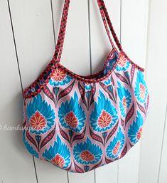Reversible Mini Beach Bag Tutorial ~ DIY Tutorial Ideas!