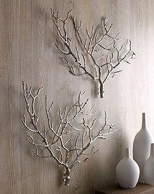 Edwin Metal Tree Branch Sculpture