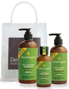 Win a @DermOrganic Essentials Bag! #crueltyfree #vegan #hair #giveaway