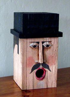 Blockhead Birdhouse