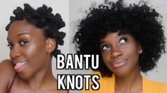HOW TO: BANTU KNOTS ON NATURAL HAIR | Angelique Brown