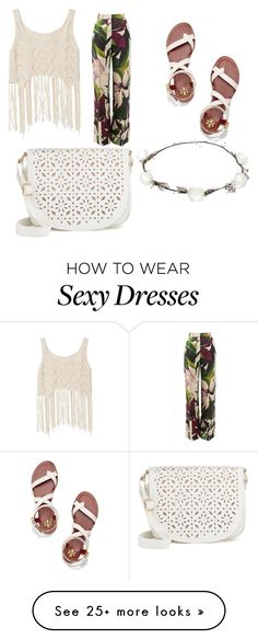 """""""Centuries"""" by dedeepps on Polyvore featuring Erika Cavallini Semi-Couture, Tory Burch, Under One Sky and Lipsy"""