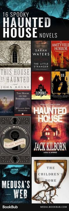 184 best haunted house ideas images on pinterest halloween prop 16 haunted house novels guaranteed to keep you up all night fandeluxe Image collections