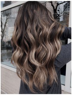 Brown Blonde Hair, Balayage Hair Brunette With Blonde, Long Brunette Hairstyles, Best Brunette Hair Color, Summer Brunette, Light Brown Hair, Brunette Balayge, Blondish Brown Hair, Brown Balyage